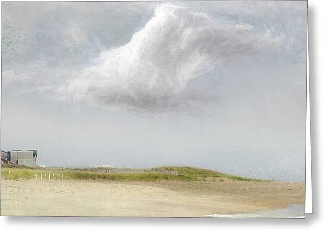 Island Sky Greeting Card