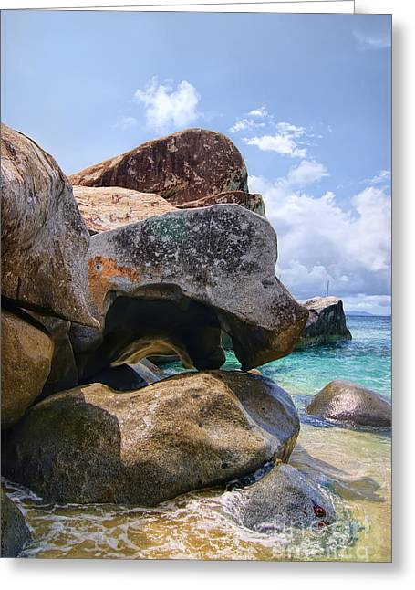 Island Virgin Gorda The Baths Greeting Card