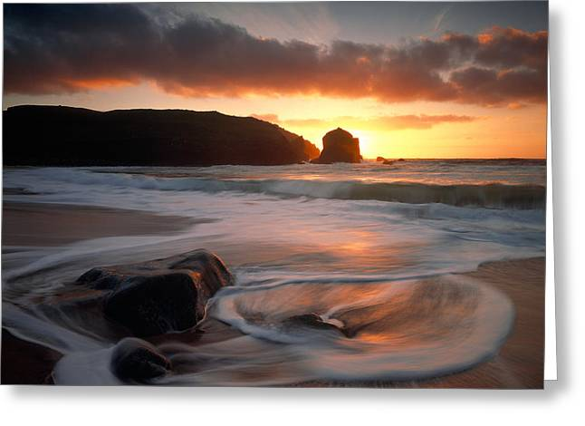 Isle Of Lewis Outer Hebrides Scotland Greeting Card by Panoramic Images