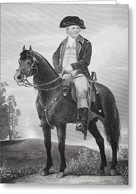 Israel Putnam 1718 - 1790. Army Officer Greeting Card by Vintage Design Pics