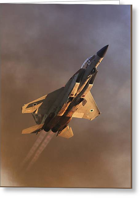 Israeli Air Force F-15i Greeting Card