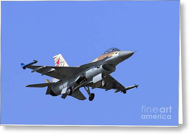 Israeli Air Force F-16c #307 Greeting Card