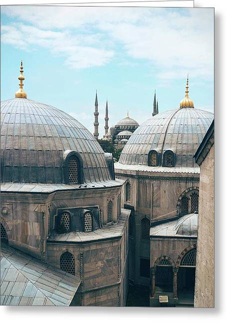 Greeting Card featuring the photograph Istanbul Mosque by Daniel Burka