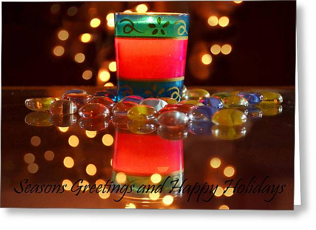It Feels Like Christmas Greeting Card by Rima Biswas