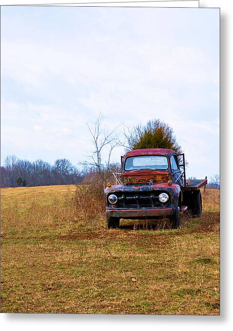 It Is Over Now Greeting Card by Jan Amiss Photography