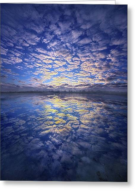 Greeting Card featuring the photograph It Was Your Song by Phil Koch