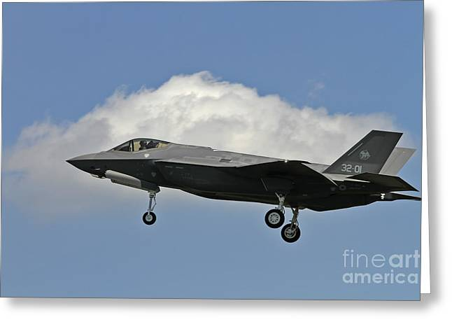 Italian Air Force F-35 Lightning II First Flight Greeting Card