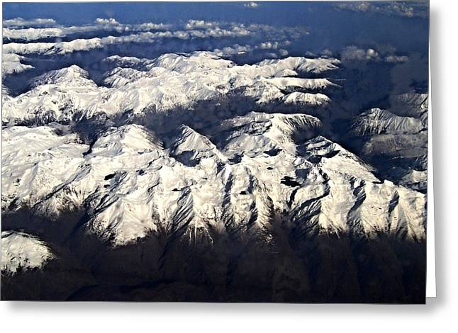 Italian Alps Greeting Card by David and Lynn Keller