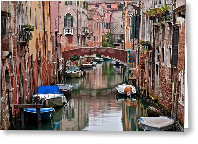 Italian Ambiance Greeting Card by Frozen in Time Fine Art Photography
