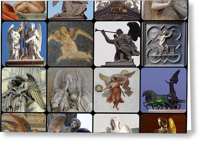 Italian Angels Greeting Card