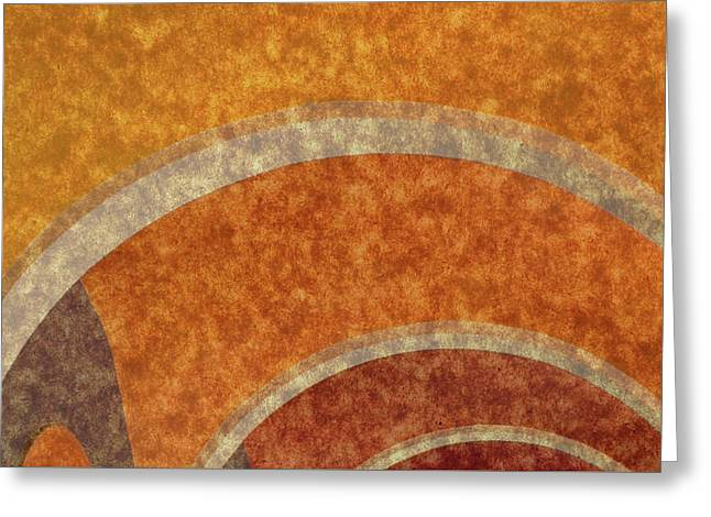 Italian Arches V2 Greeting Card by Bruce