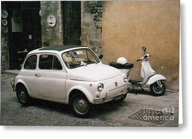 Italian Classic Commute  Greeting Card