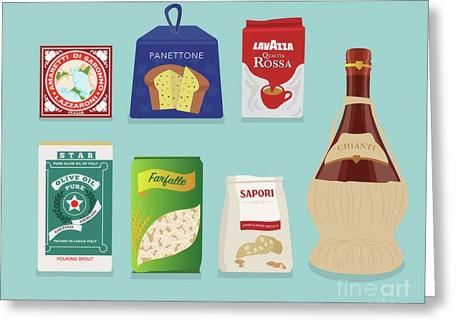Italian Deli Greeting Card