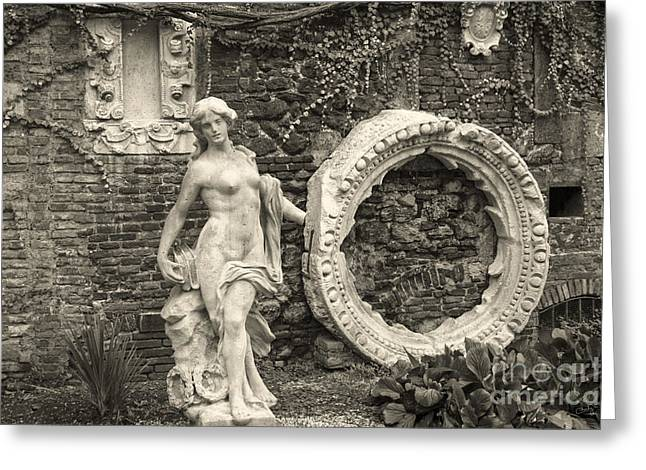 Italian Garden Greeting Card