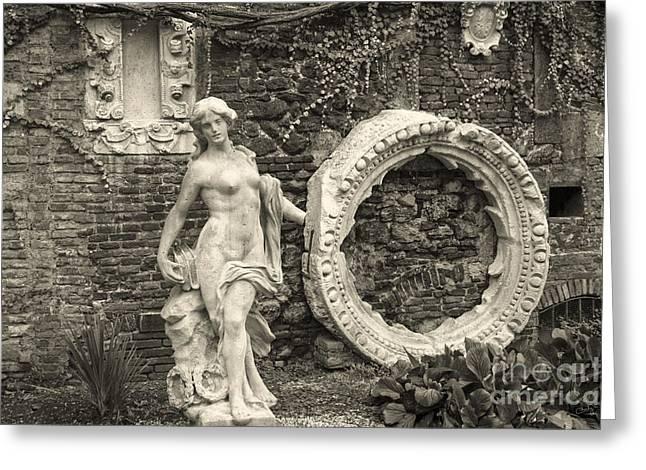 Italian Garden Greeting Card