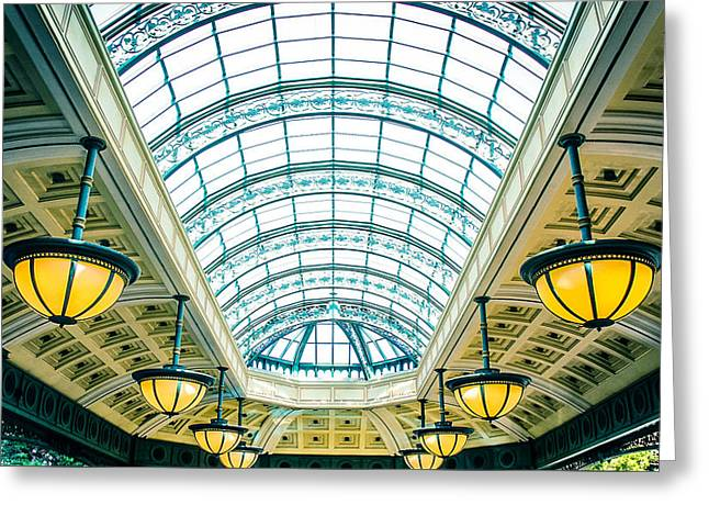 Greeting Card featuring the photograph Italian Skylight by Bobby Villapando