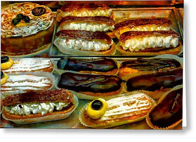 Italian Temptations Greeting Card by Dorothy Berry-Lound