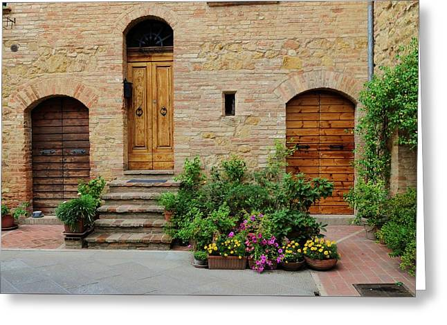 Italy - Door Eight Greeting Card