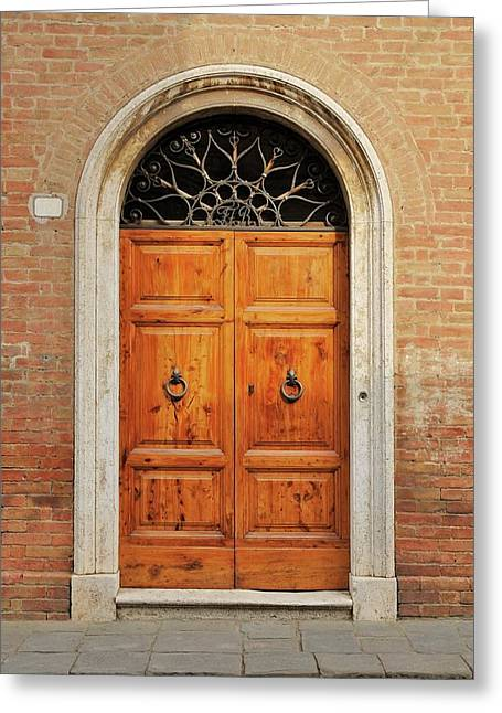Italy - Door Fifteen Greeting Card
