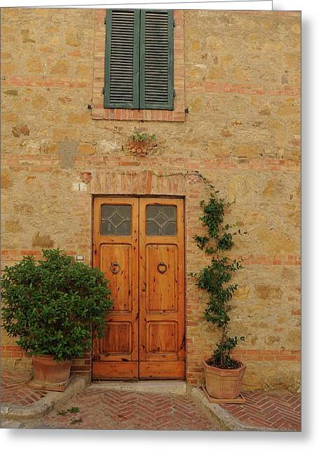 Italy - Door Nine Greeting Card
