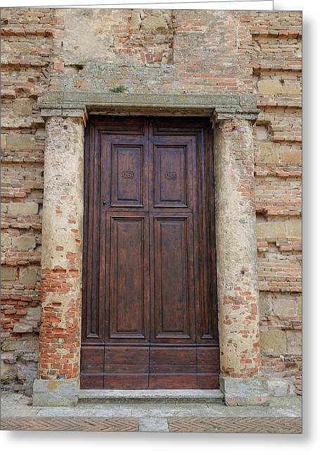Italy - Door Nineteen Greeting Card