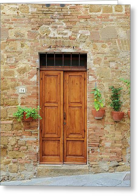 Italy - Door Six Greeting Card