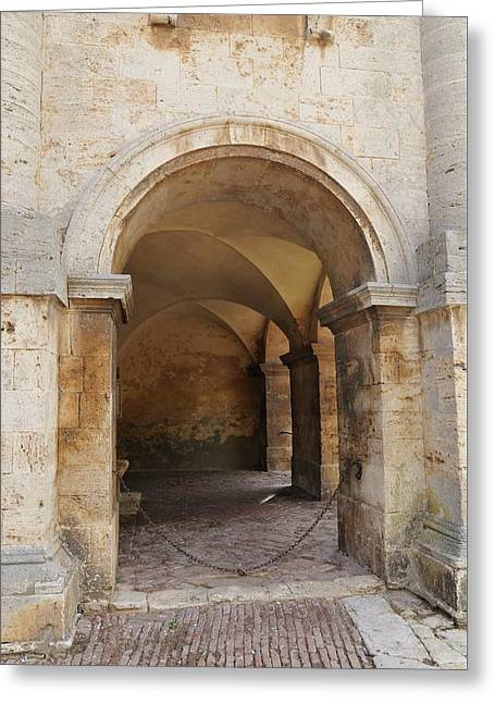 Italy - Door Sixteen Greeting Card