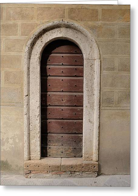 Italy - Door Ten Greeting Card