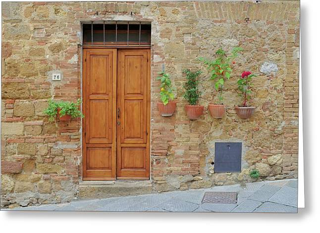 Italy - Door Twenty Greeting Card