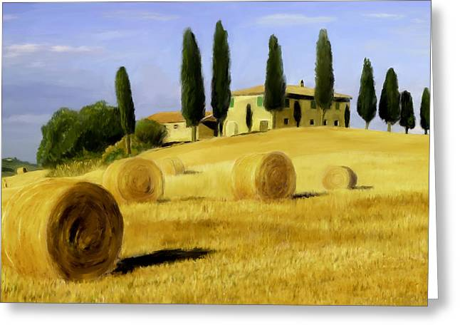 Italy In Fall Greeting Card