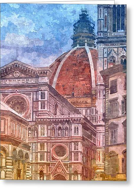 Italy Greeting Card by Nikolay Ivanov