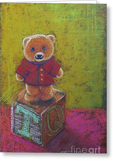 It's A Bear's World Greeting Card by Tracy L Teeter