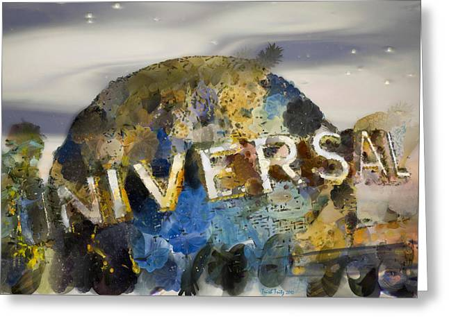 It's A Universal Kind Of Day Greeting Card by Trish Tritz