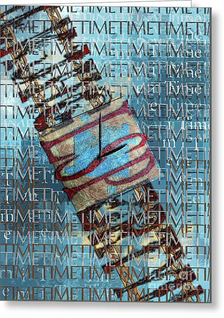 Its All About Time Greeting Card