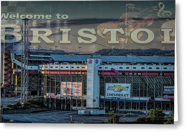 Its Bristol Baby Greeting Card