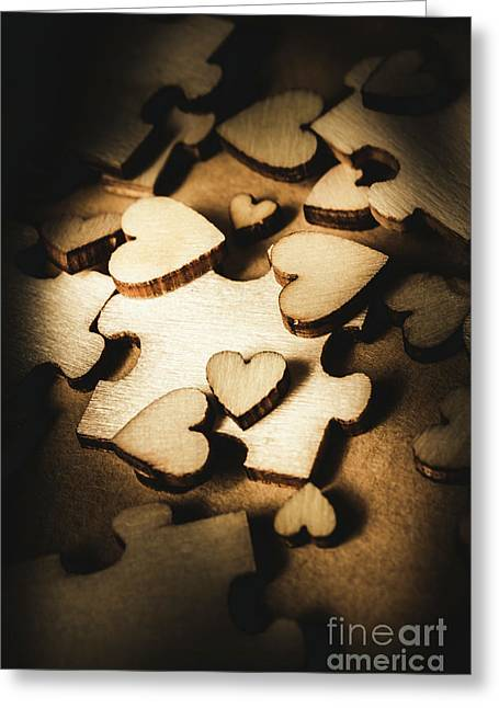 Its Complicated Greeting Card by Jorgo Photography - Wall Art Gallery