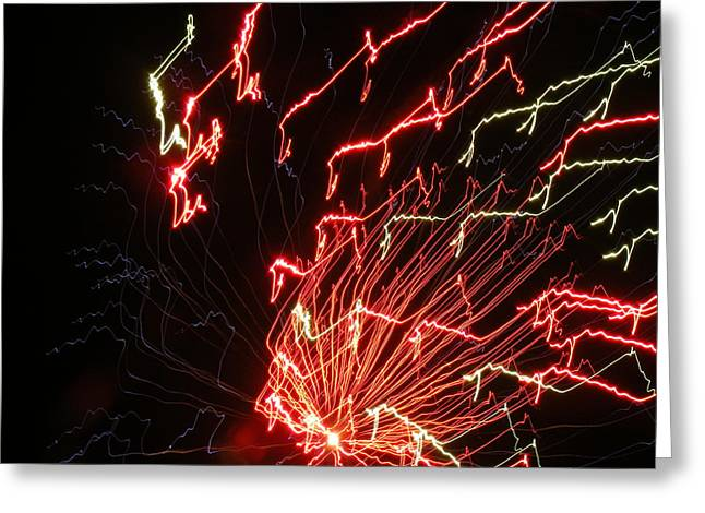 Its Electric Greeting Card by James and Vickie Rankin