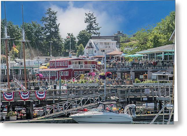 It's Gonna Be A Bright Sunshiny Day Friday Harbor Greeting Card