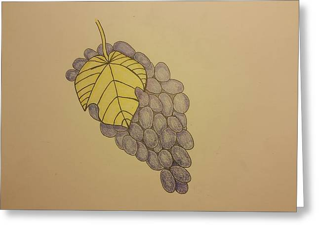 It's Just Grapes... Greeting Card by Andrew Rice