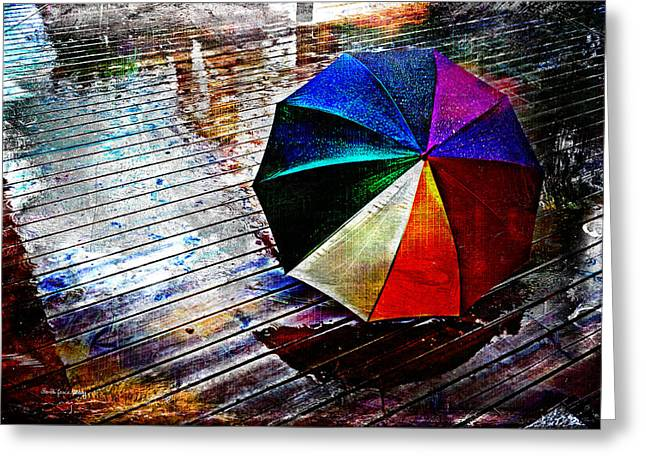 It's Raining Again Greeting Card