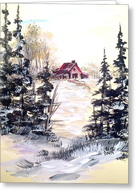 It's Winter - 2 Greeting Card