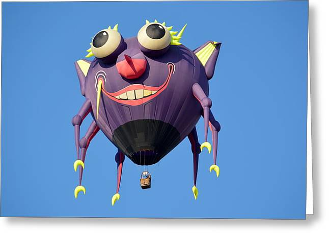 Greeting Card featuring the photograph Itzy Bitzy Spider by AJ Schibig