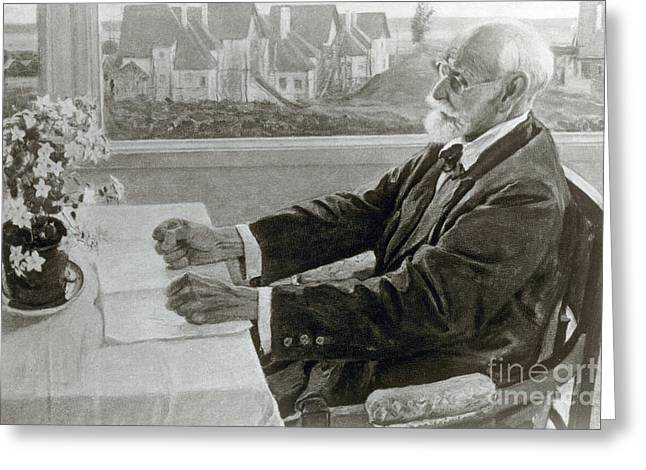 Ivan Pavlov, Russian Physiologist Greeting Card by Science Source