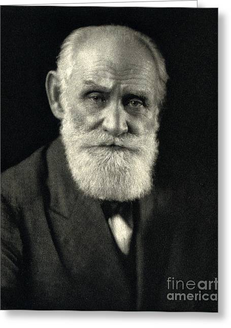 Ivan Pavlov, Russian Physiologist Greeting Card by Wellcome Images