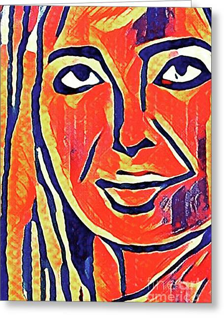 Ivanka Trump Greeting Card by Michael Volpicelli