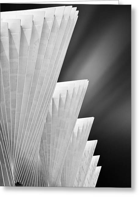 Ivory Gates Greeting Card by Michiel Hageman