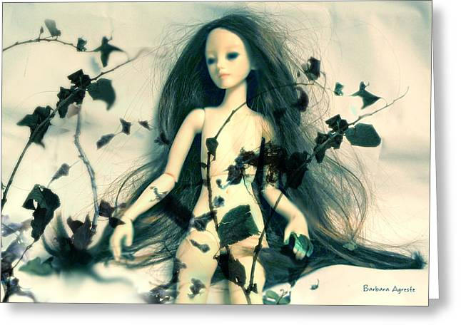 Ivy Greeting Card by Barbara Agreste