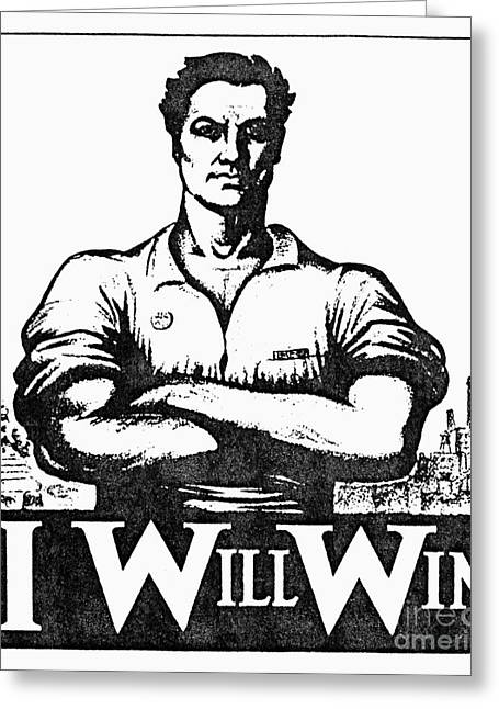 Iww Poster, 1917 Greeting Card by Granger