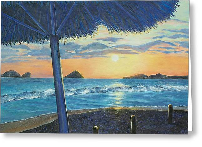 Ixtapa Greeting Card by Susan DeLain