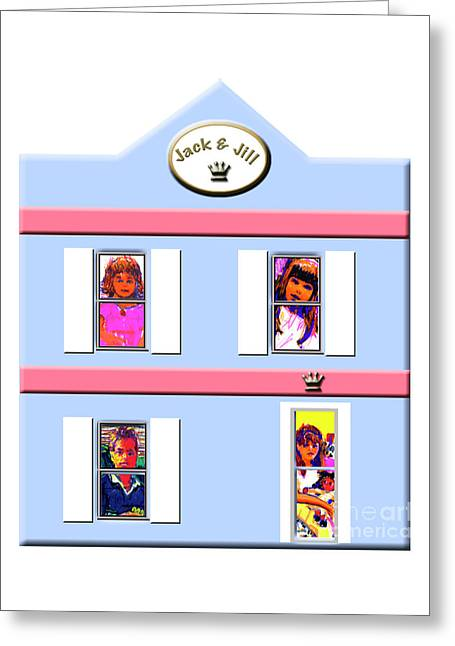 Jack And Jill Shop Greeting Card by Candace Lovely